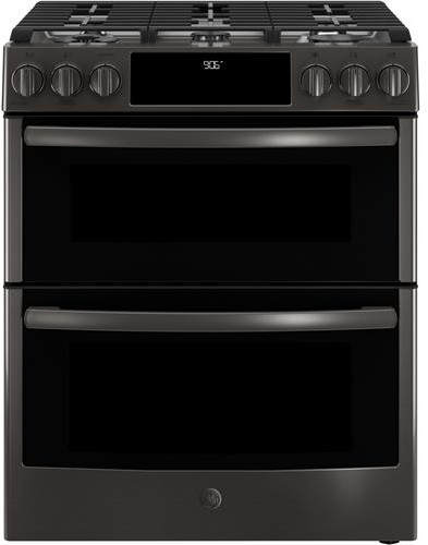 ge pgs960belts 30 inch slide in gas range with wifi connect chef connect true european. Black Bedroom Furniture Sets. Home Design Ideas