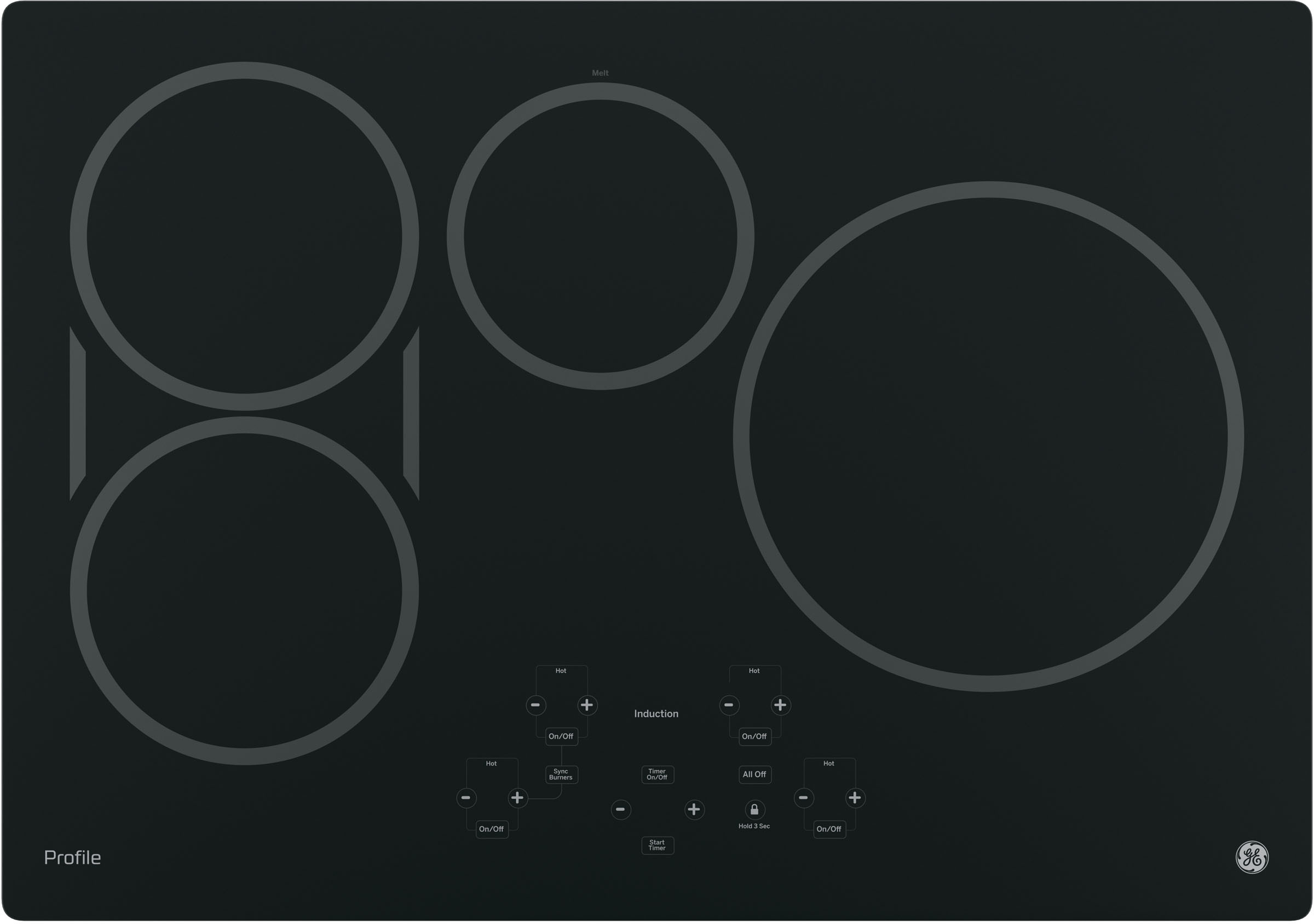 Hybrid Induction Cooktop Induction Cooktops
