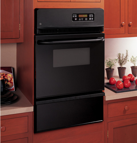 Ge Jgrs06bejbb 24 Inch Single Gas Wall Oven With 2 8 Cu