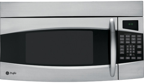 GE PVM1870SMSS 1.8 cu. ft. Over-the-Range Microwave Oven with 1100 Cooking  Watts, CircuWave Cooking System, Recessed Turntable, Full-Width Active  Hidden Vent, 300 CFM Venting and Halogen Lighting: Stainless Steel