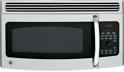 Ge Jvm1665snss 1 6 Cu Ft Over The Range Microwave Oven