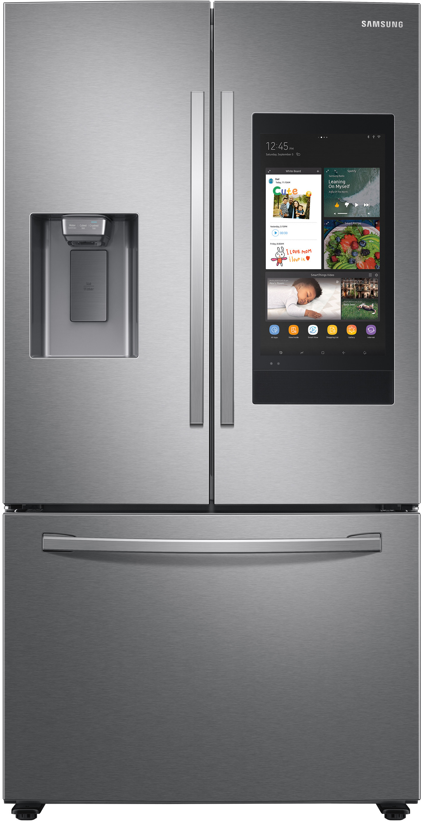 Samsung RF27T5501SG 24 Cu.Ft Stainless French Door Refrigerator