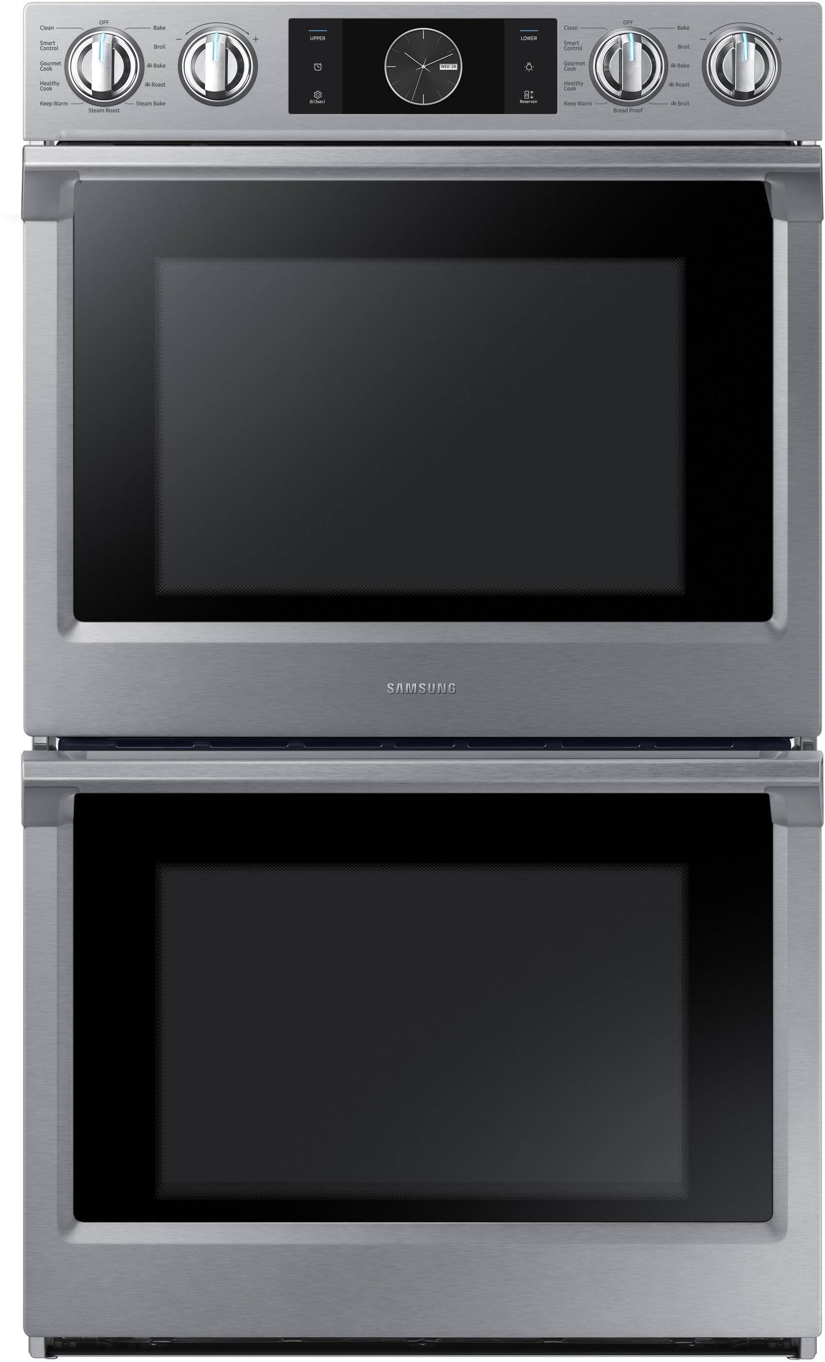 Samsung Nv51k7770ds 30 Inch Electric Double Wall Oven With 10 2 Cu
