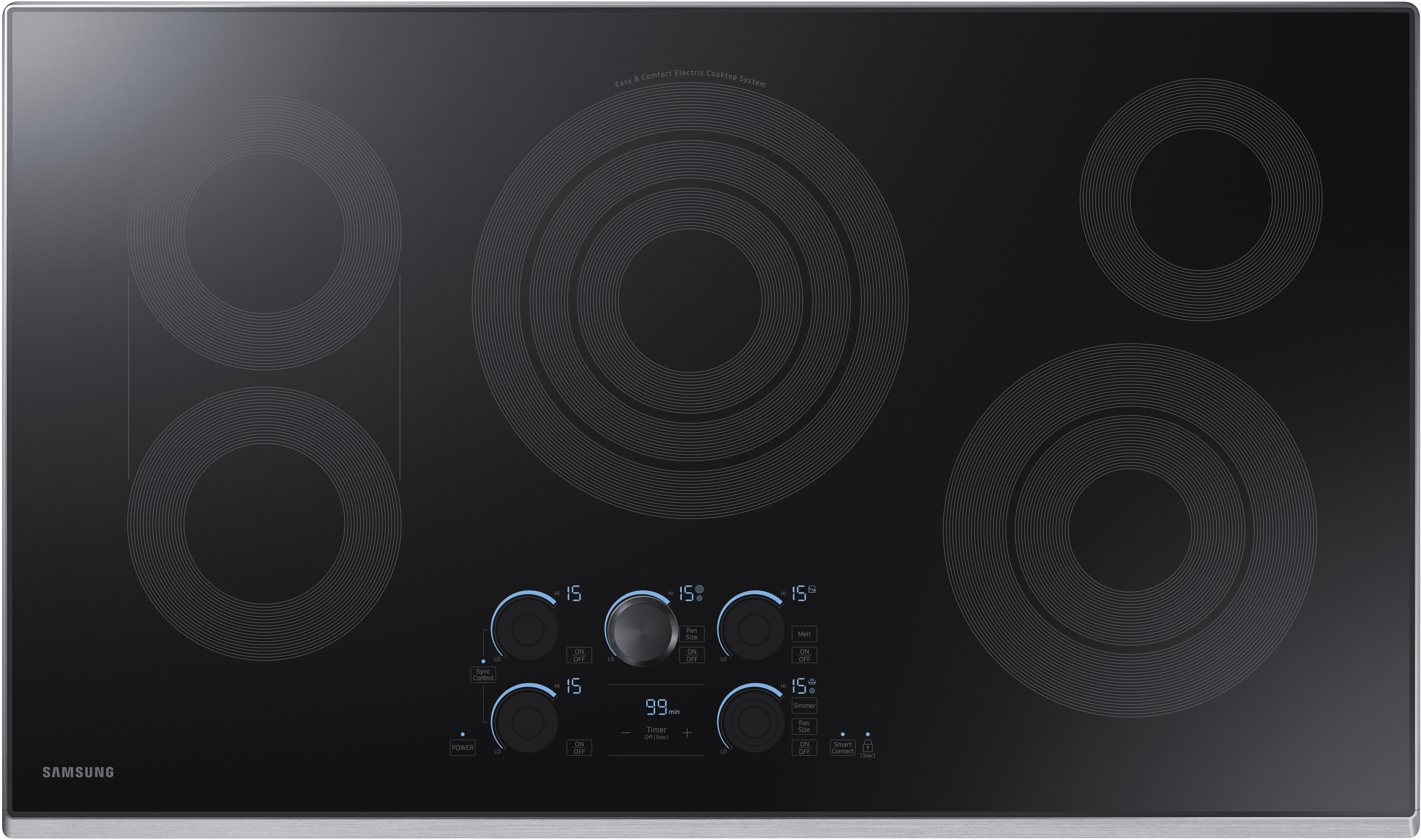 Nz36k7570rs 36 Inch Electric Cooktop