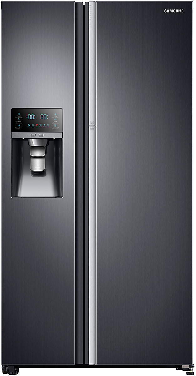 beautiful samsung 24 5 side by side refrigerator. Black Bedroom Furniture Sets. Home Design Ideas