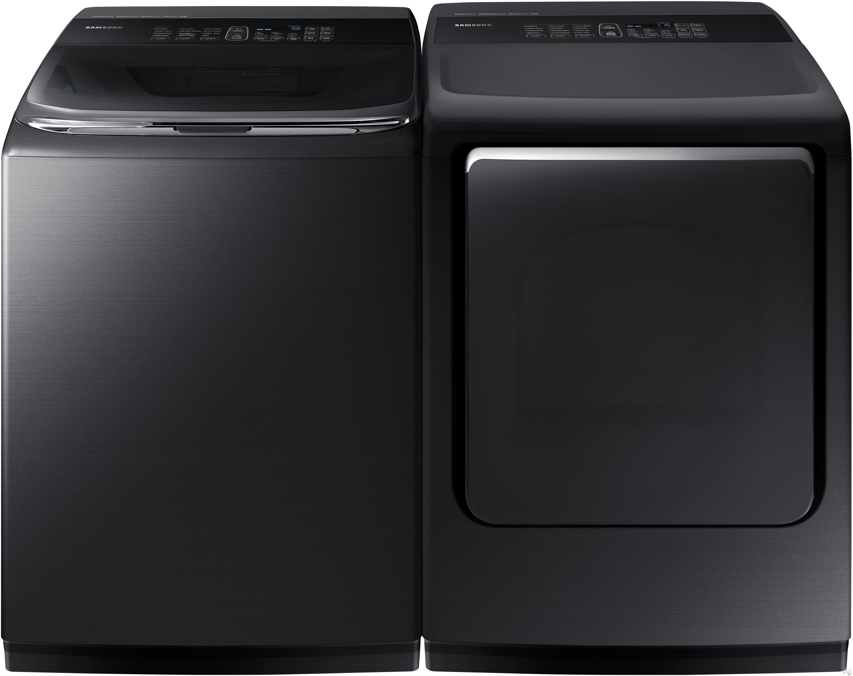 Samsung Sawadrgbs2 Side By Side Washer Amp Dryer Set With