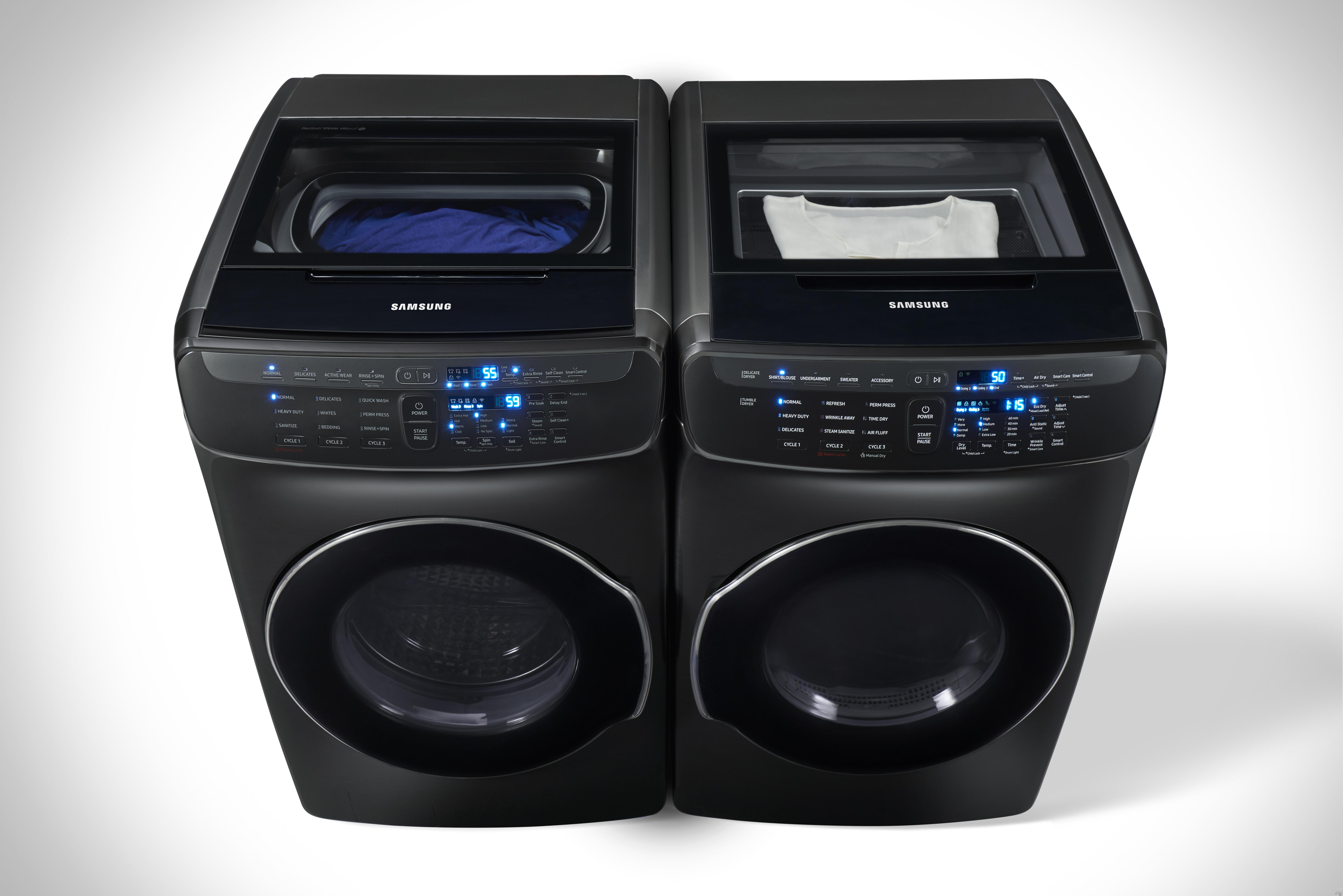 Samsung Sawadrev341 Side By Side Washer Amp Dryer Set With