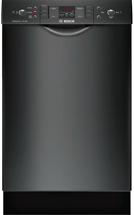 Bosch Spe53u56uc 18 Inch Full Console Dishwasher With Aquastop Plus