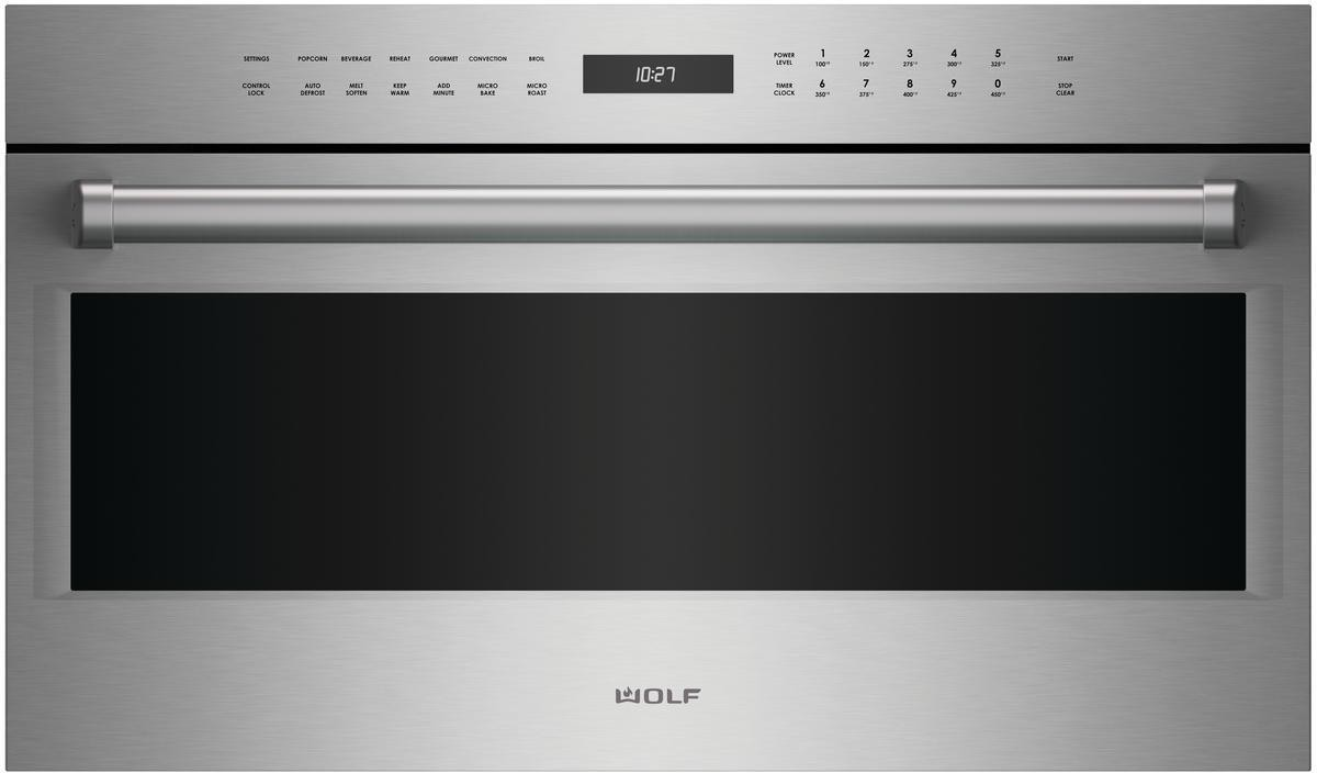Wolf Spo30pesph 30 Inch Electric Speed Oven With Dual