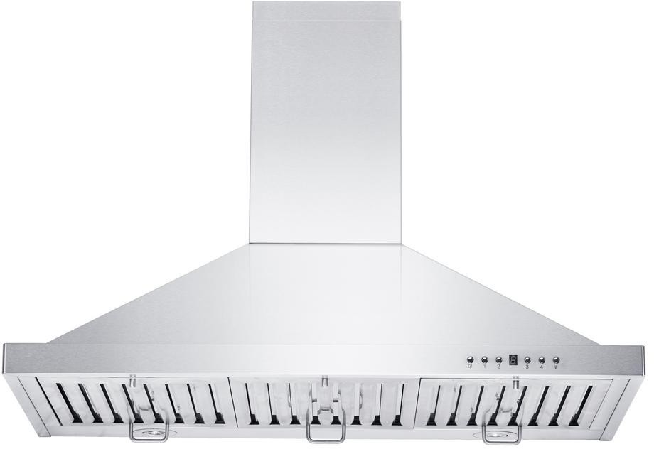 Zline Kb30 Wall Mount Range Hood With 4 Speed 400 Cfm Blower Stainless Steel Baffle Filters Directional Led Lighting Damper And Delay Shutoff 30 With 400 Cfm Blower