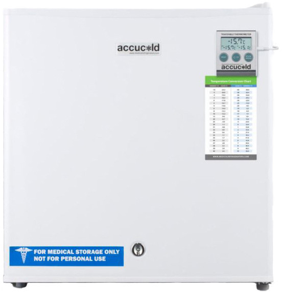 Accucold 1.4 Cu. Ft. Compact Upright Freezer Fs24l7med