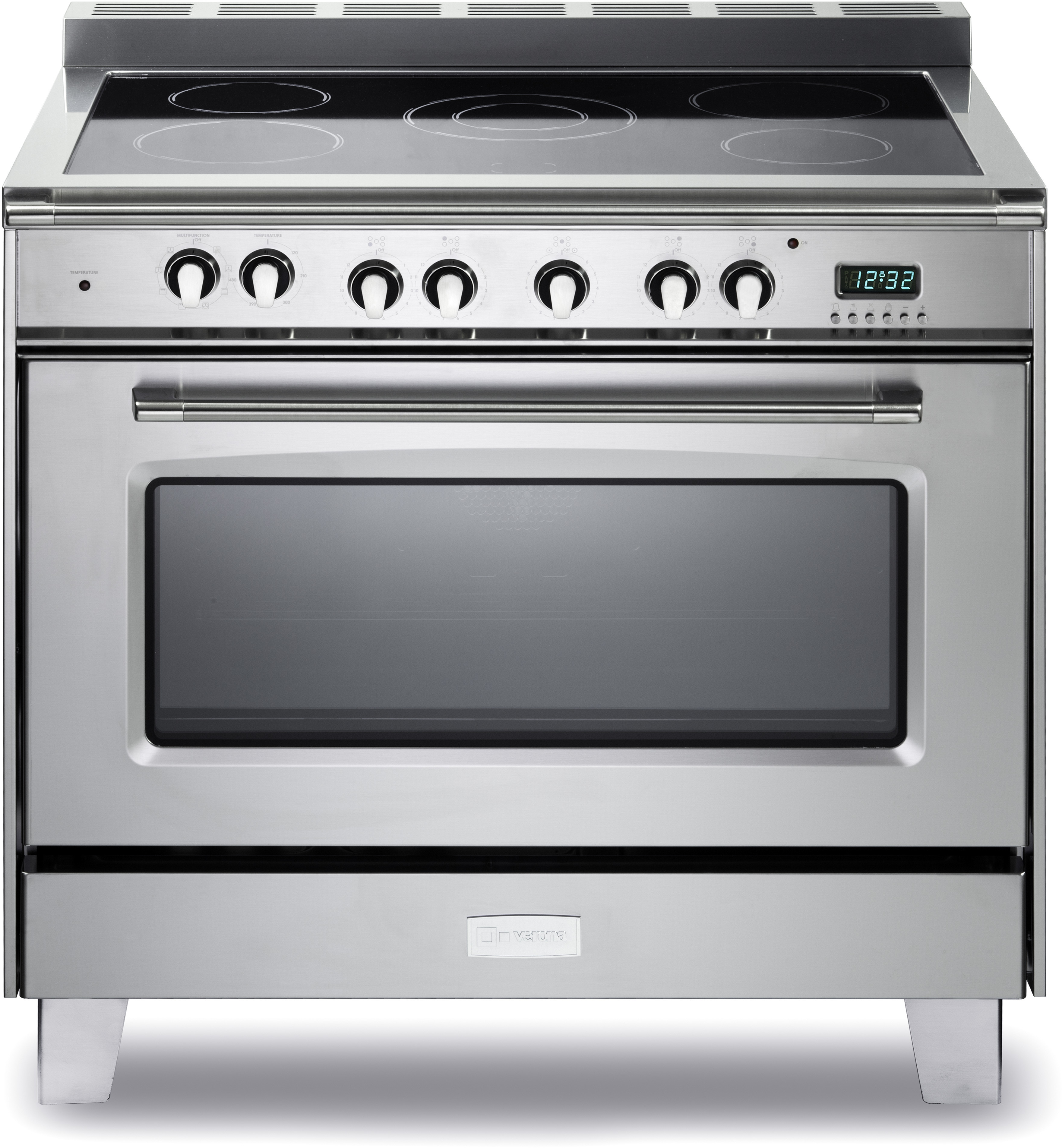 36 Electric Range >> Verona Vclfsee365ss 36 Inch Freestanding Electric Range