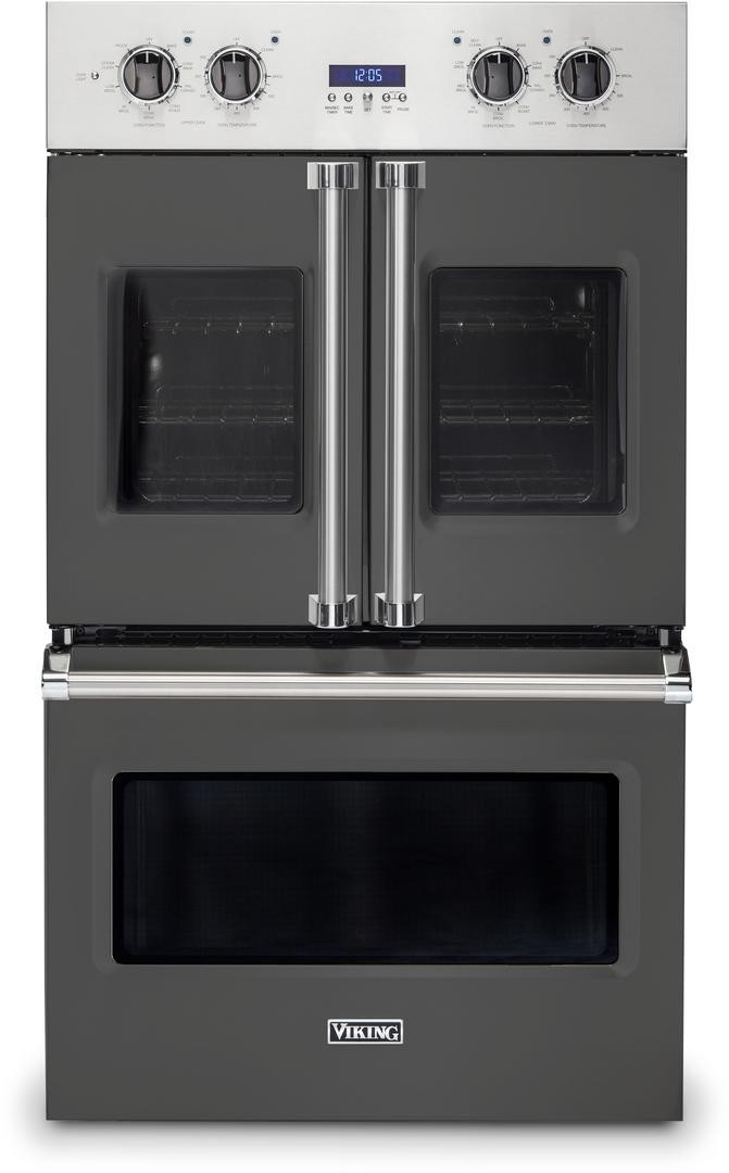 Viking Vdof7301gg 30 Inch French Door Double Wall Oven