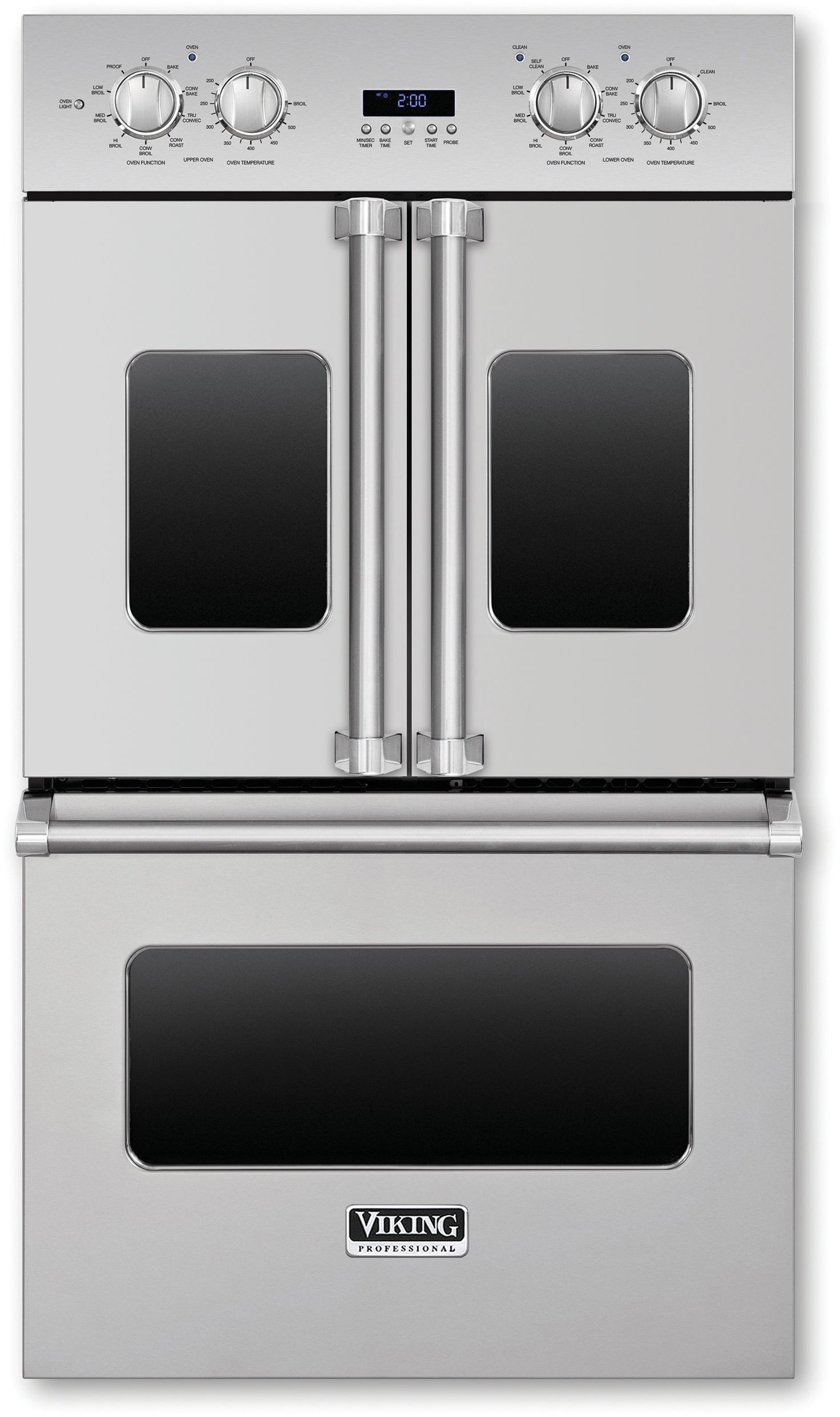 Viking Vdof730ss 30 Inch Double Electric French Door Oven