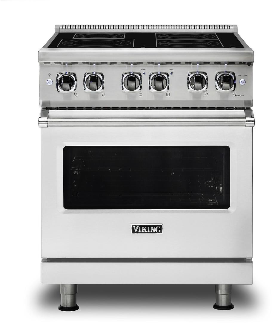 Induction Ranges - Rapid Heating and Convection Oven