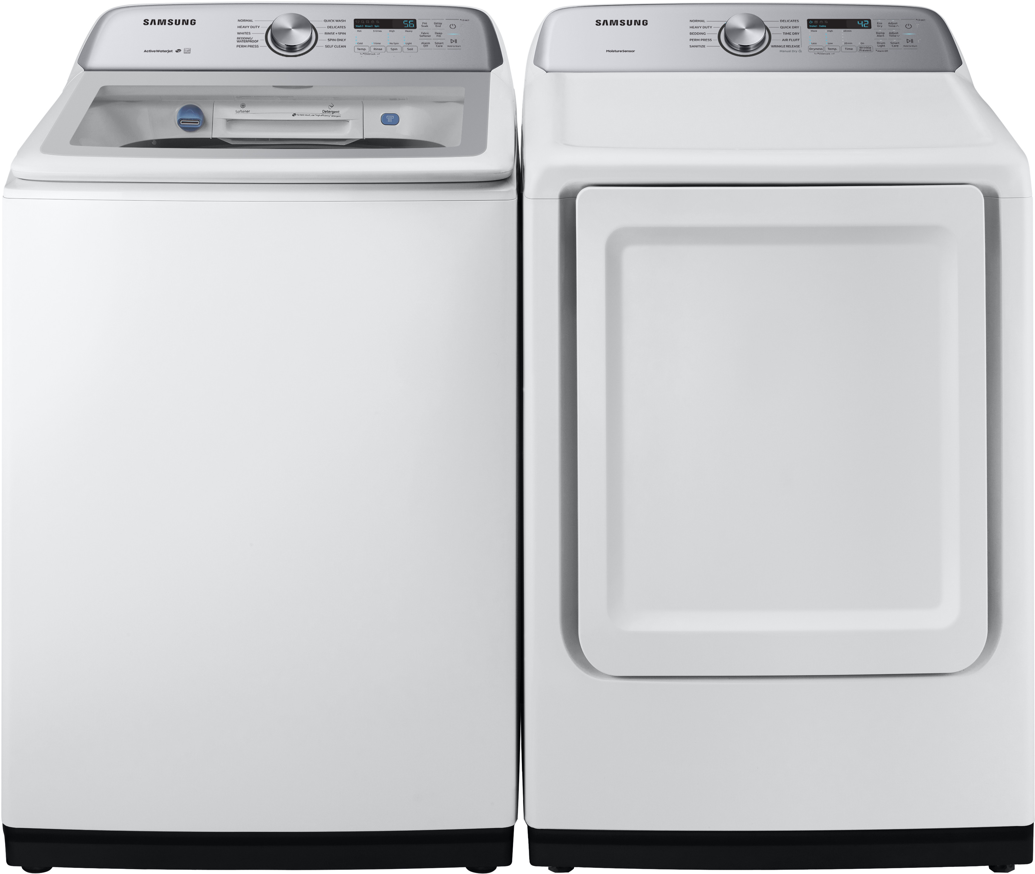 Samsung Sawadrew52001 Side By Side Washer Amp Dryer Set With
