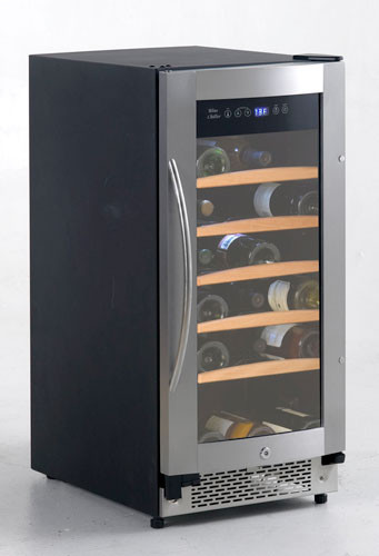 Avanti WC30SSR 15 Inch Built-in Wine Cooler with 30-Bottle ...