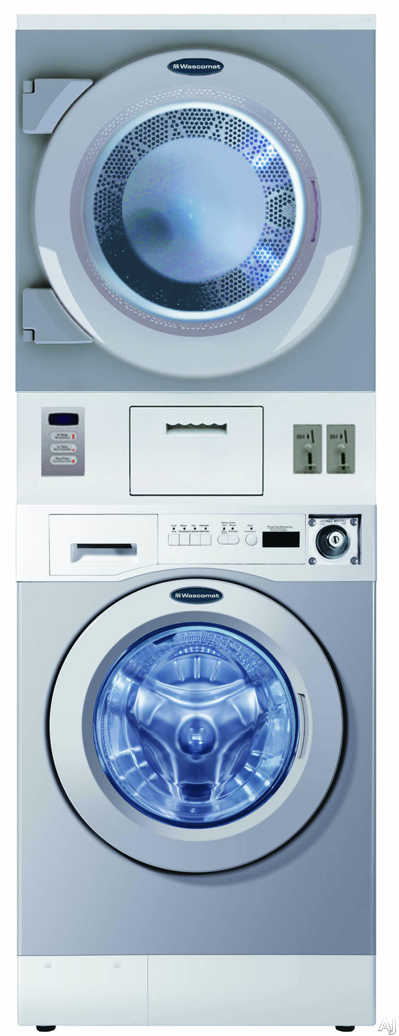 Crossover Wdsgm 27 Inch Stacked Gas Laundry Center With 3