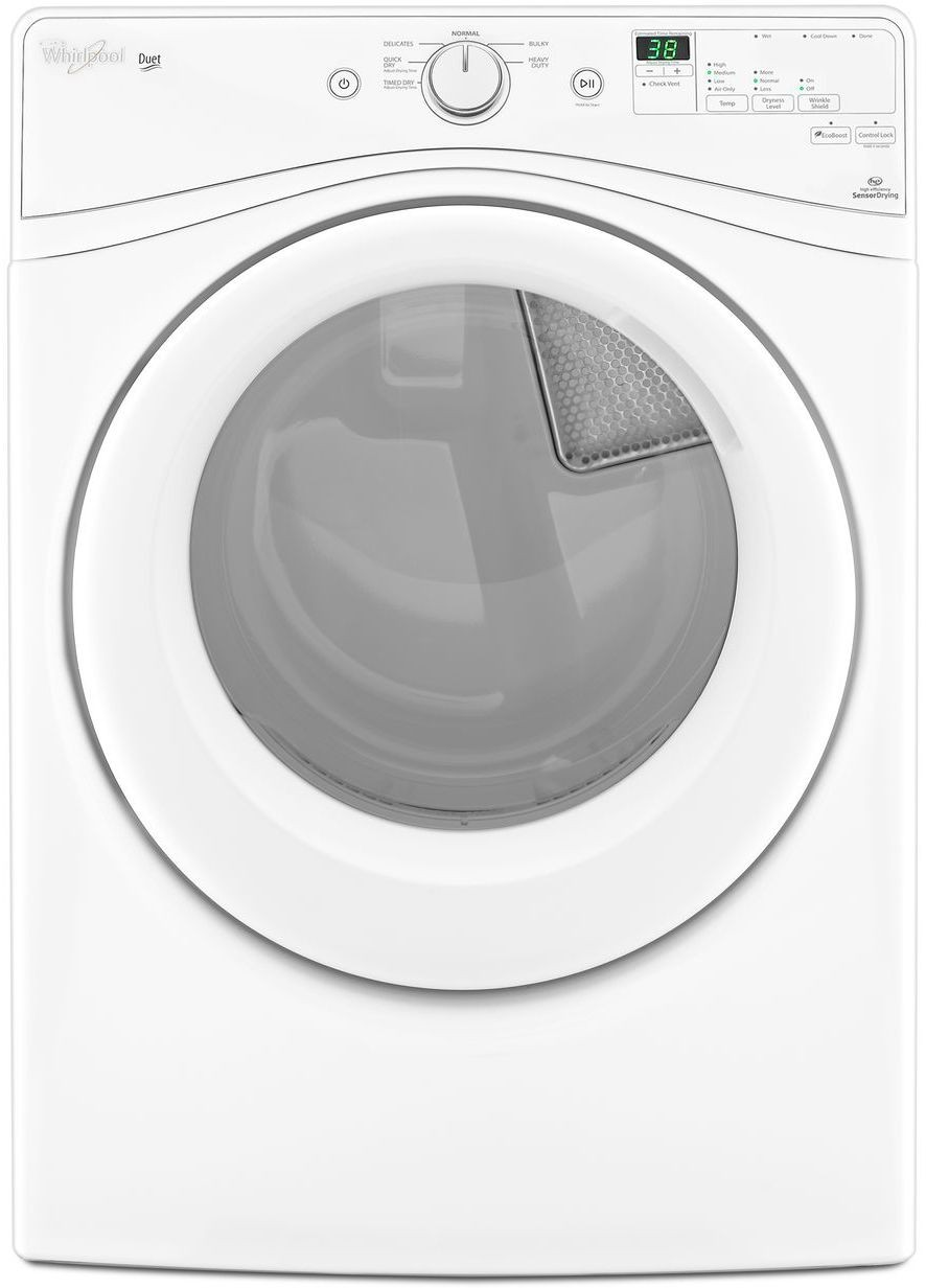 Whirlpool Wed72hedw 27 Inch 7 4 Cu Ft Electric Dryer