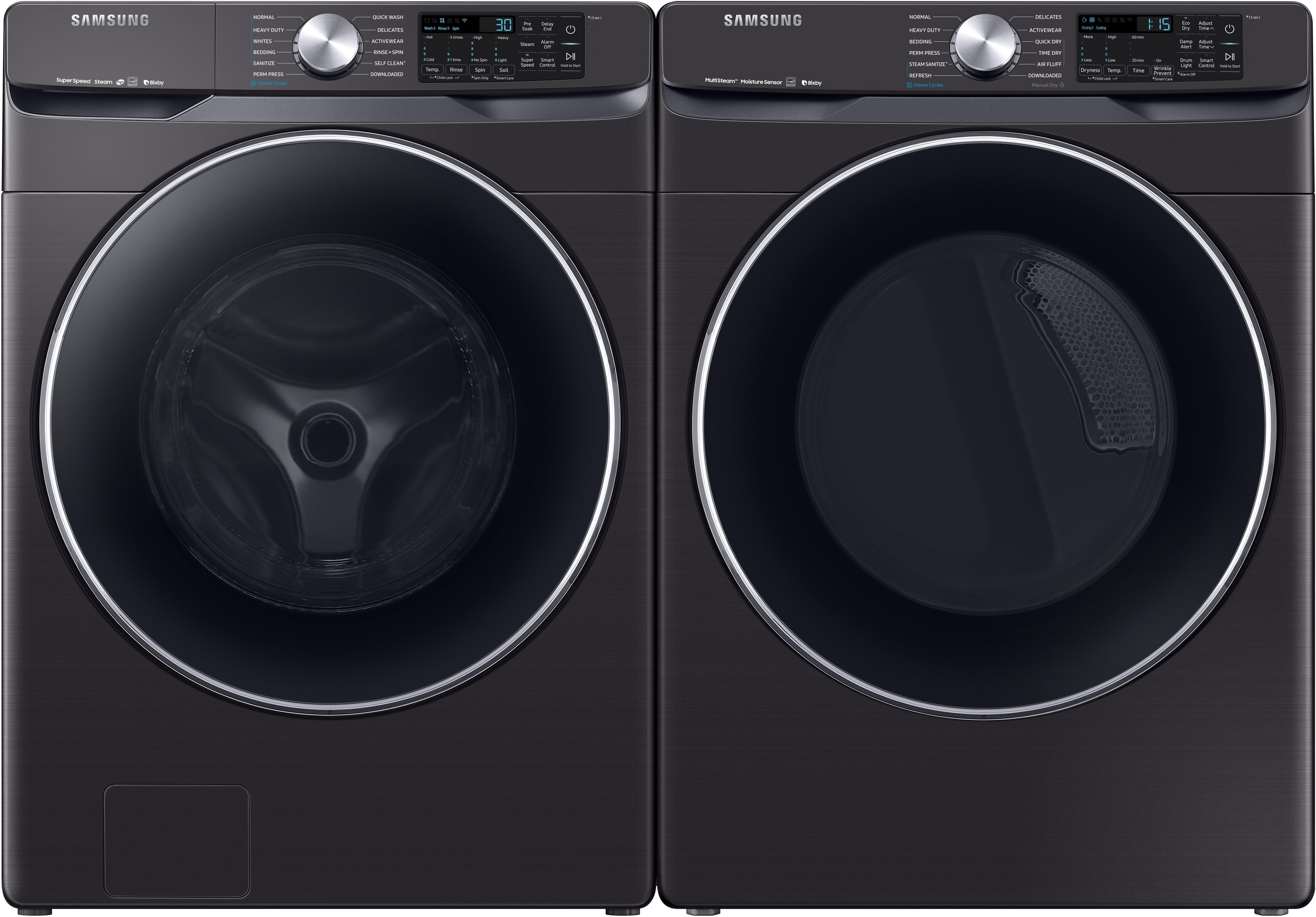 Samsung Sawadrev63001 Side By Side Washer Amp Dryer Set With