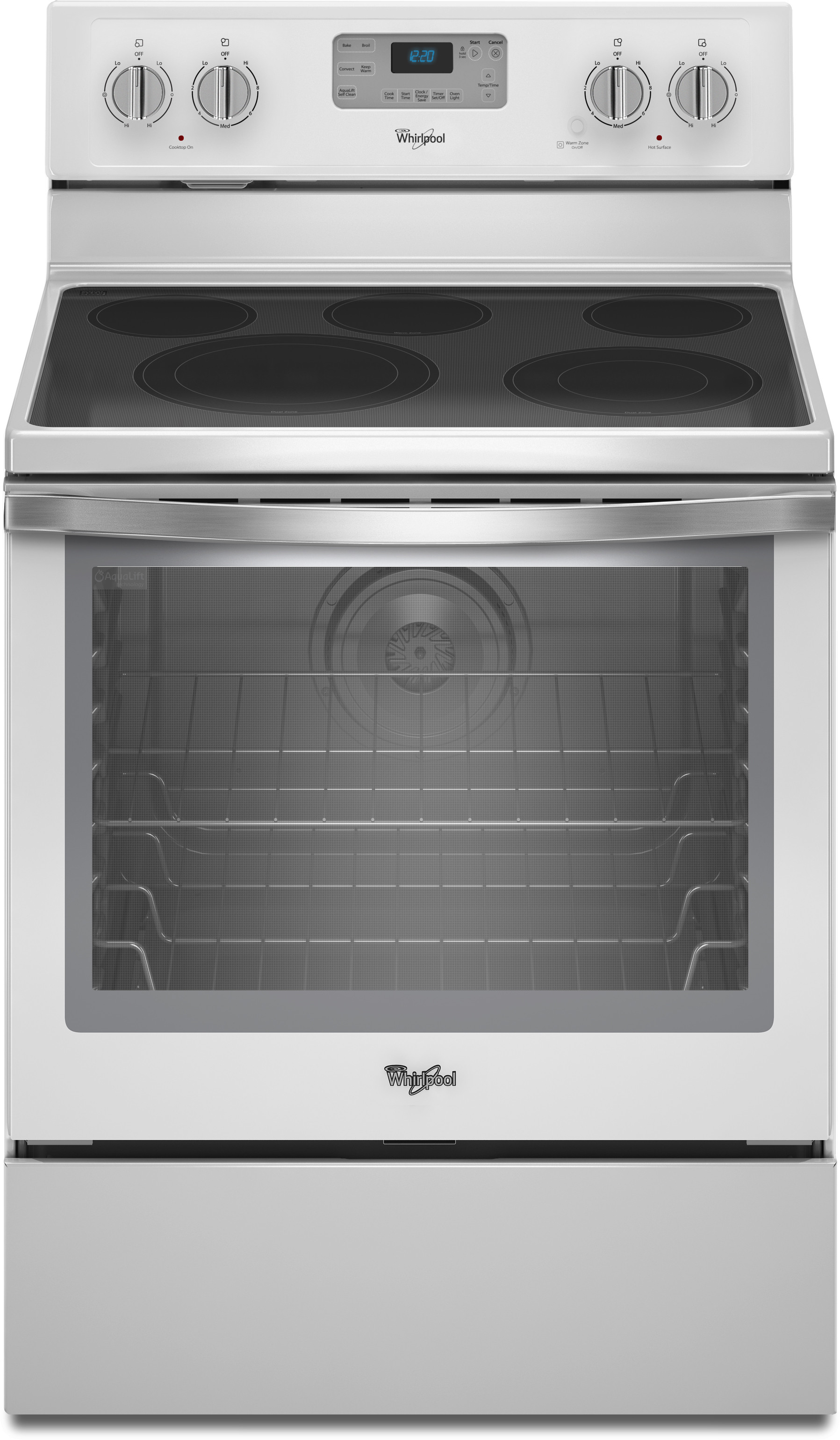 Whirlpool white ice cooktop - Whirlpool White Ice Cooktop
