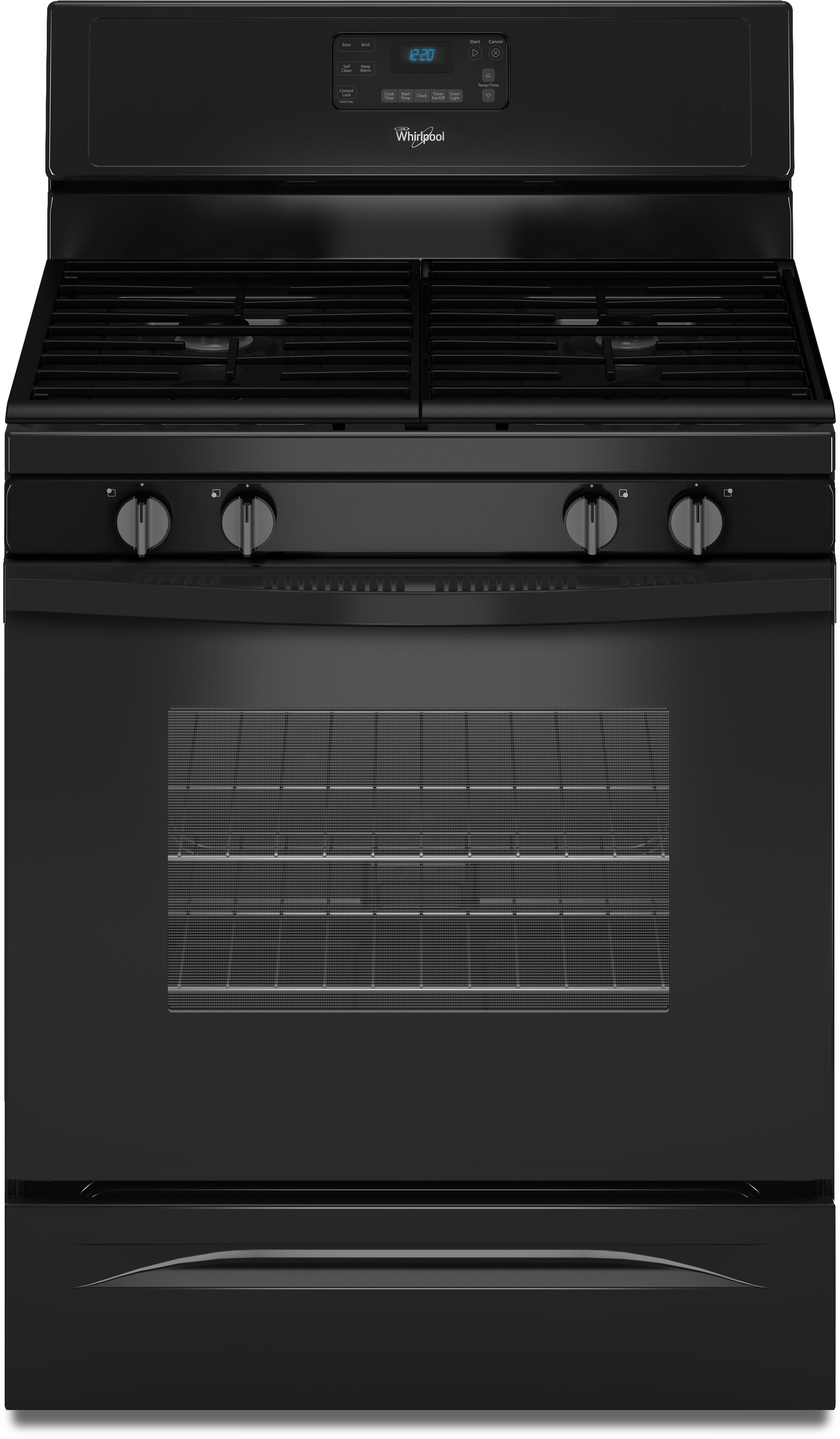 Whirlpool Wfg515s0eb 30 Inch Freestanding Gas Range With Accubake