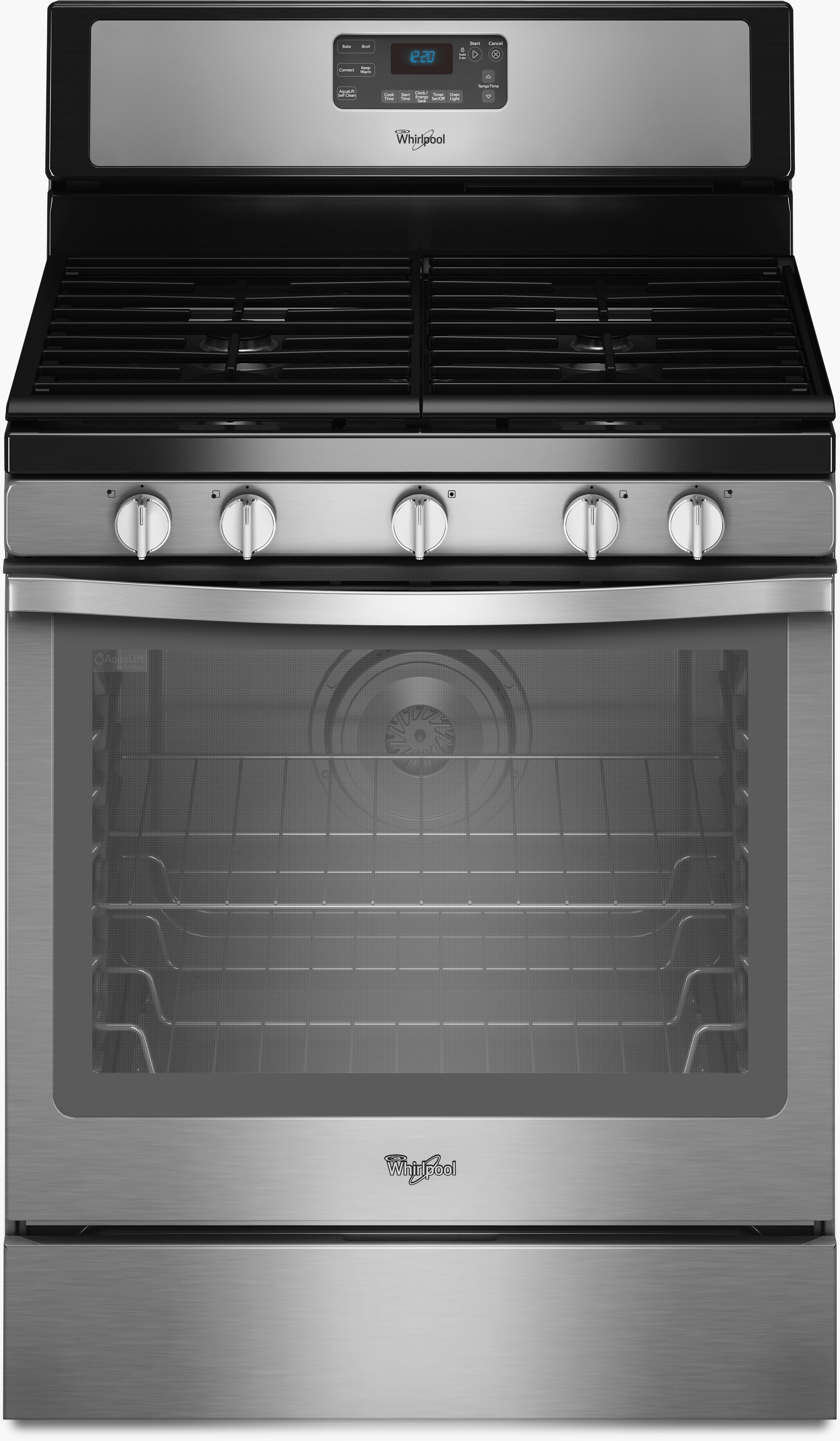 Whirlpool WFG540H0ES 30 Inch Freestanding Gas Range with SpeedHeat ...