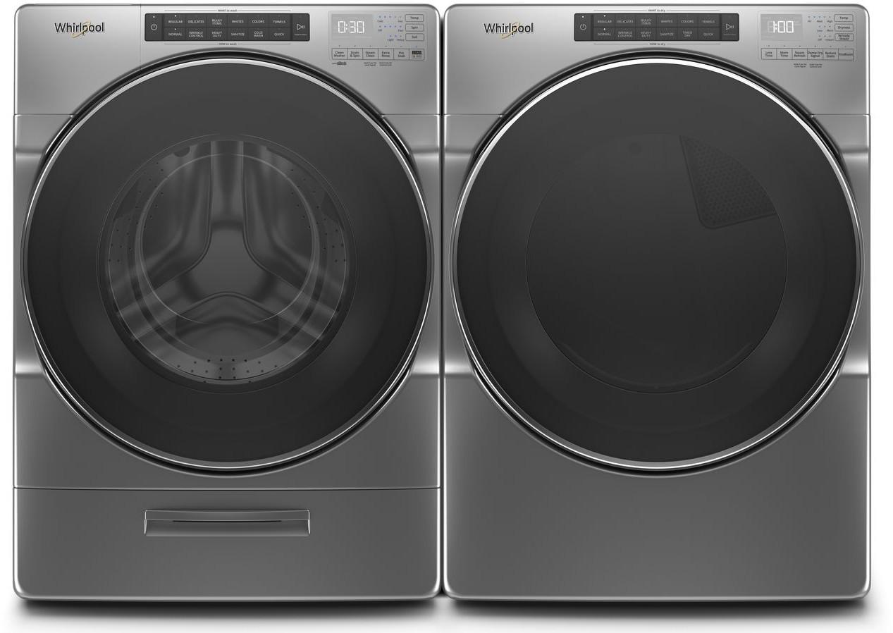 Whirlpool Wpwadrec66201 Side By Side Washer Amp Dryer Set