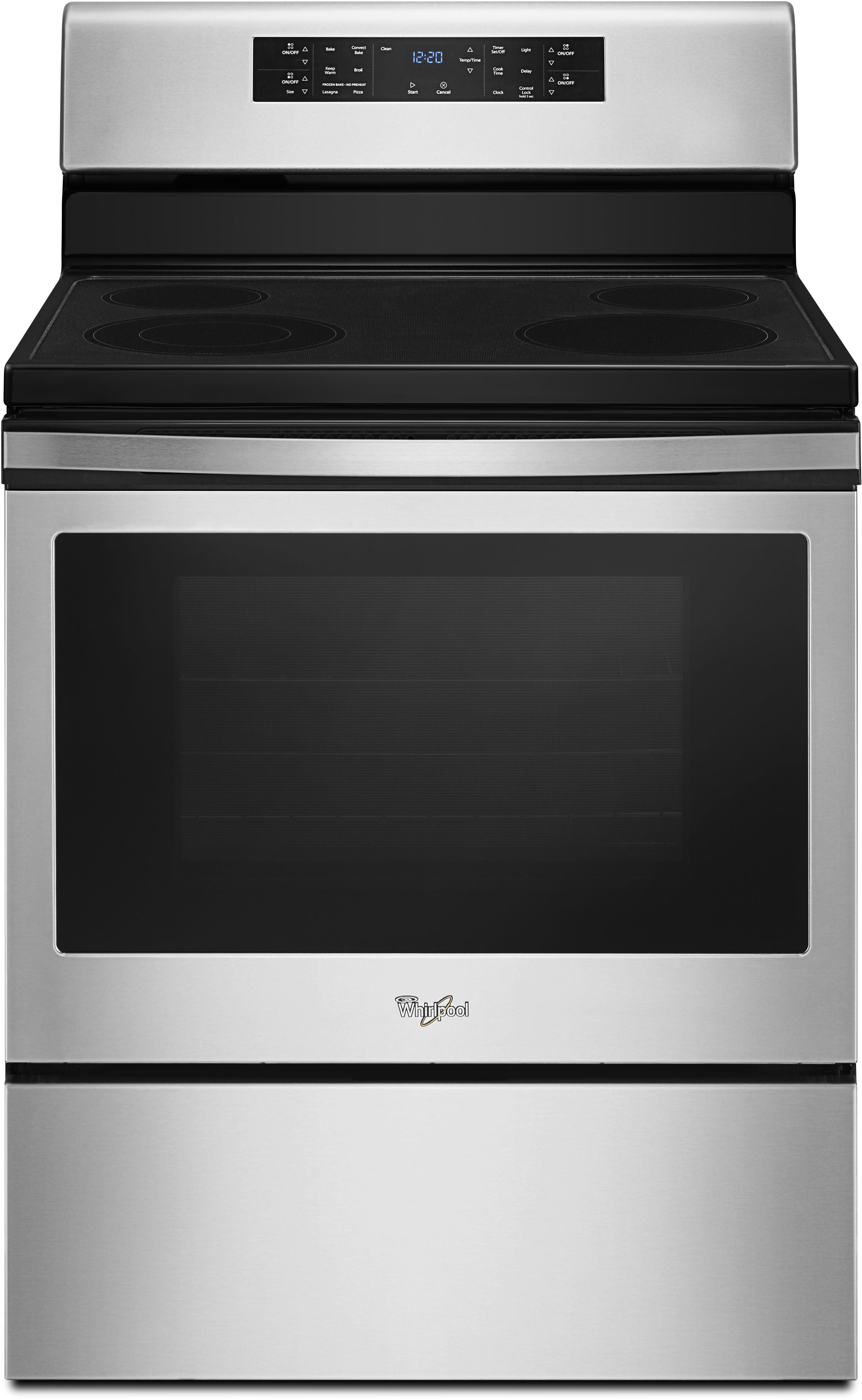 Whirlpool Wfe520s0fs 30 Inch Electric Range With 5 3 Cu