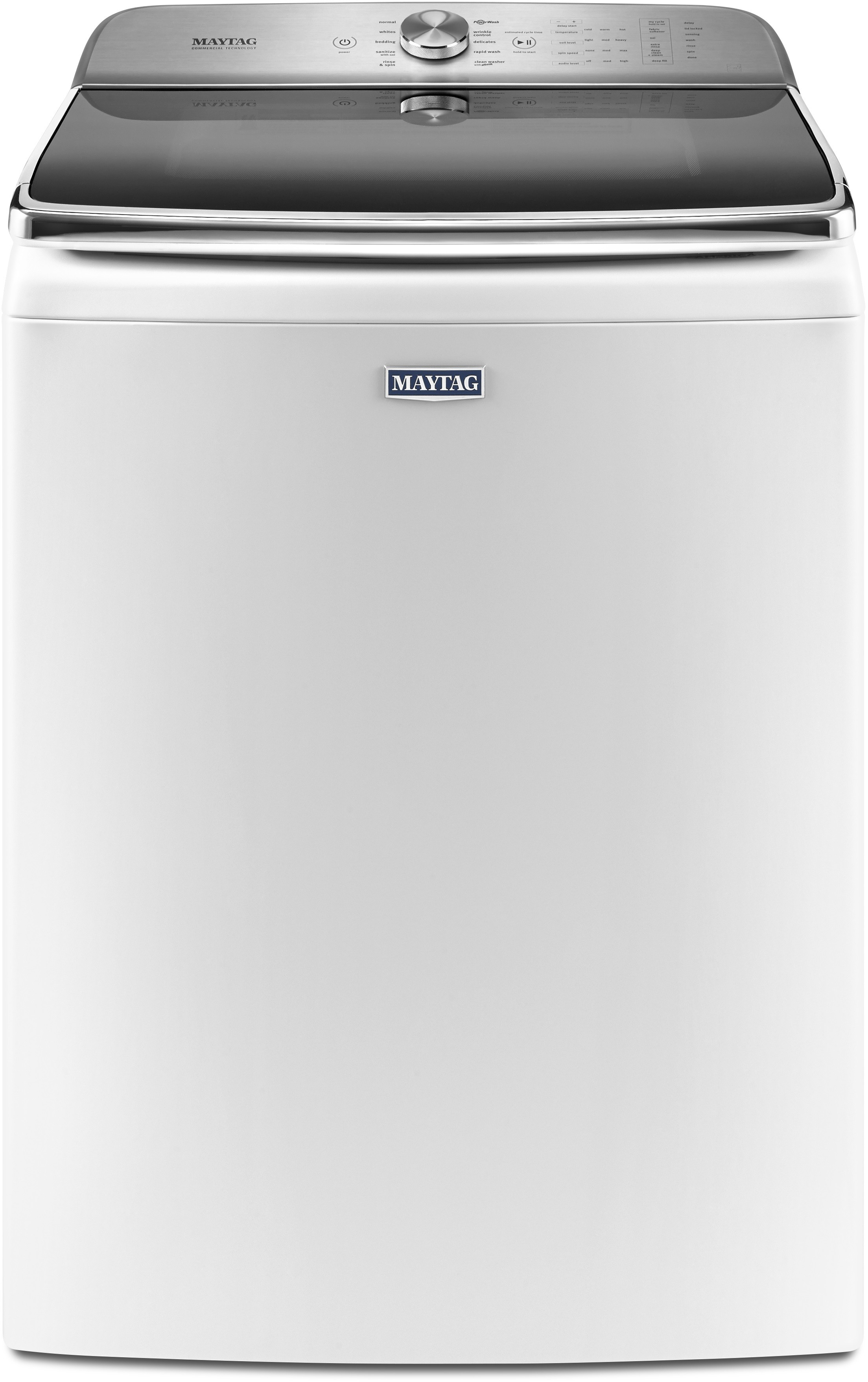 Maytag mvwb955fw 30 inch top load washer with 6 2 cu ft capacity 10 wash cycle selections - Maytag whirlpool ...