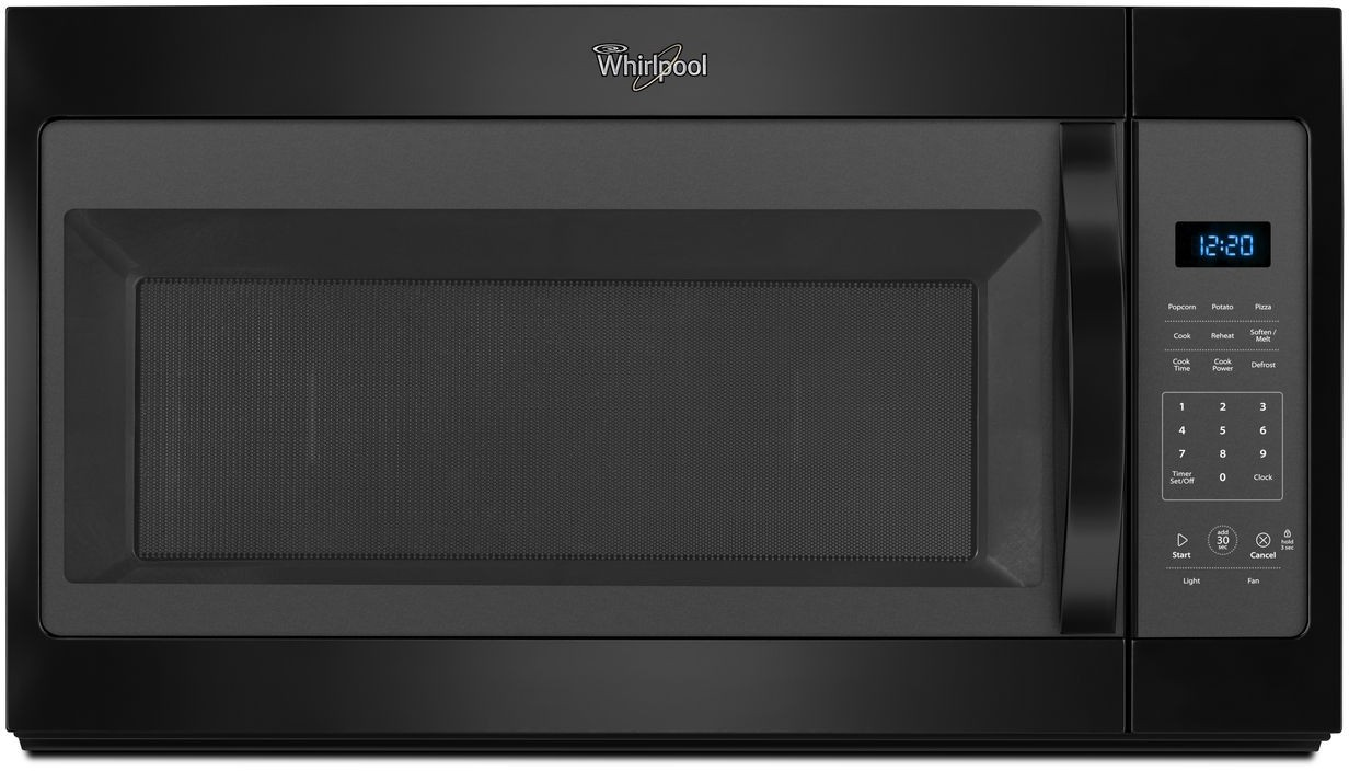 Whirlpool Wmh31017fb 17 Cu Ft Over The Range Microwave Oven With
