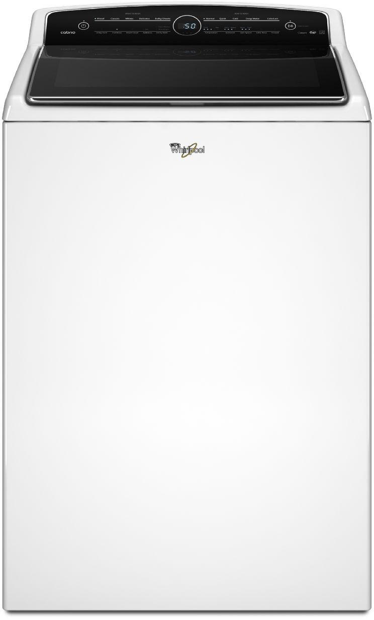 Whirlpool Cabrio 28 Inch 5 3 cu  ft  Top Load Washer
