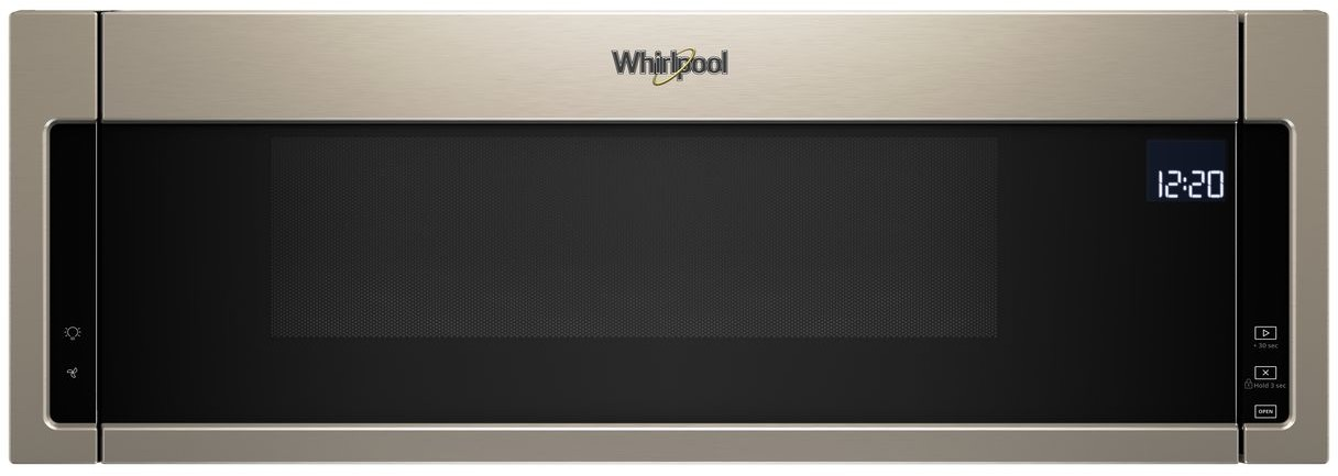 Whirlpool 1 Cu Ft Over The Range Low Profile Microwave