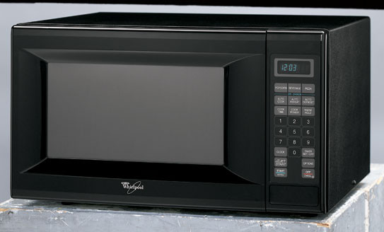 Whirlpool Mt4140skb 1 4 Cu Ft Countertop Microwave Oven