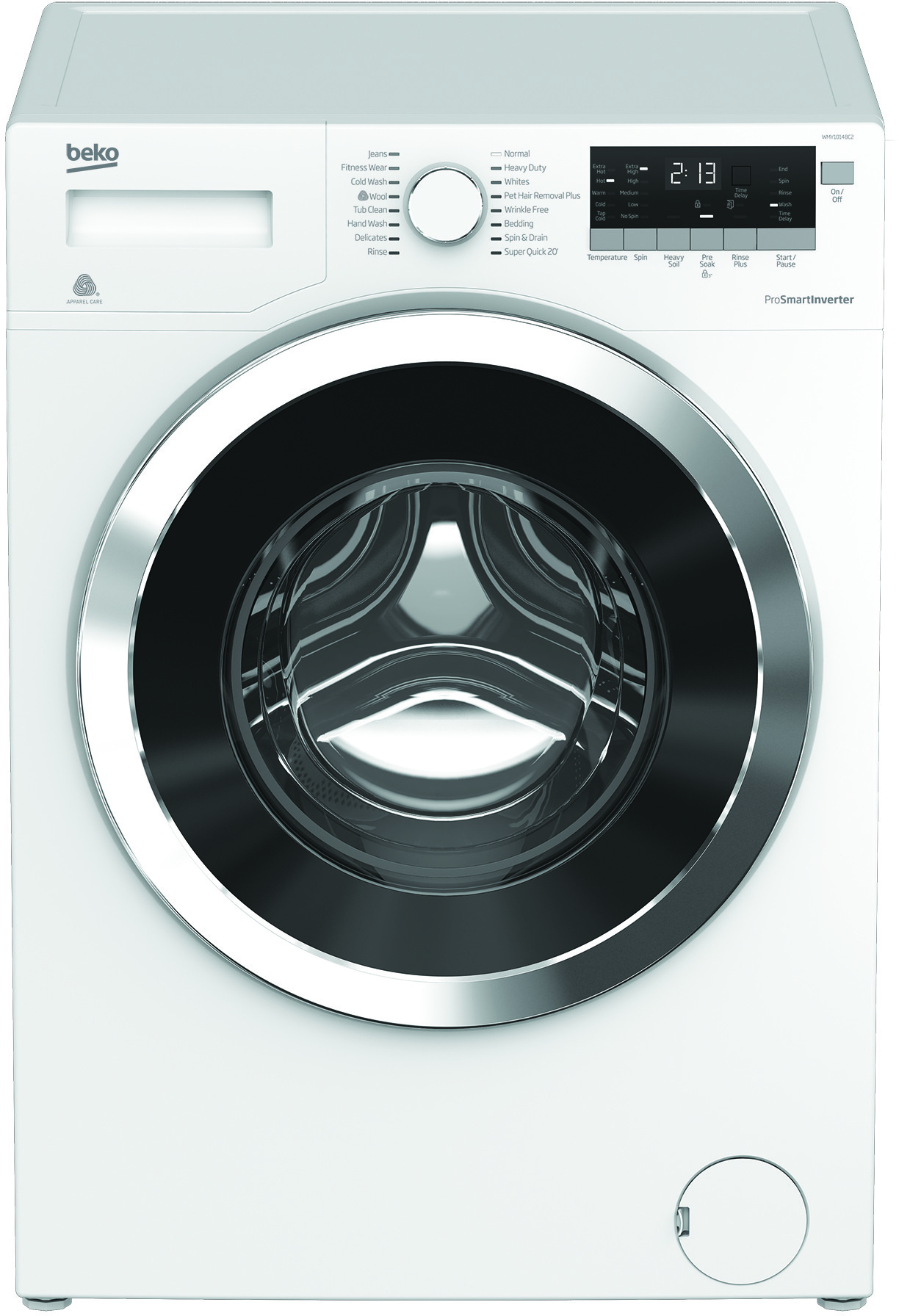 Image of Beko 2.5 Cu. Ft. Front Load Washer WMY10148C2