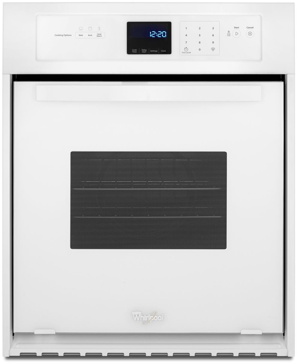 Whirlpool white ice single wall oven - Whirlpool White Ice Single Wall Oven 12