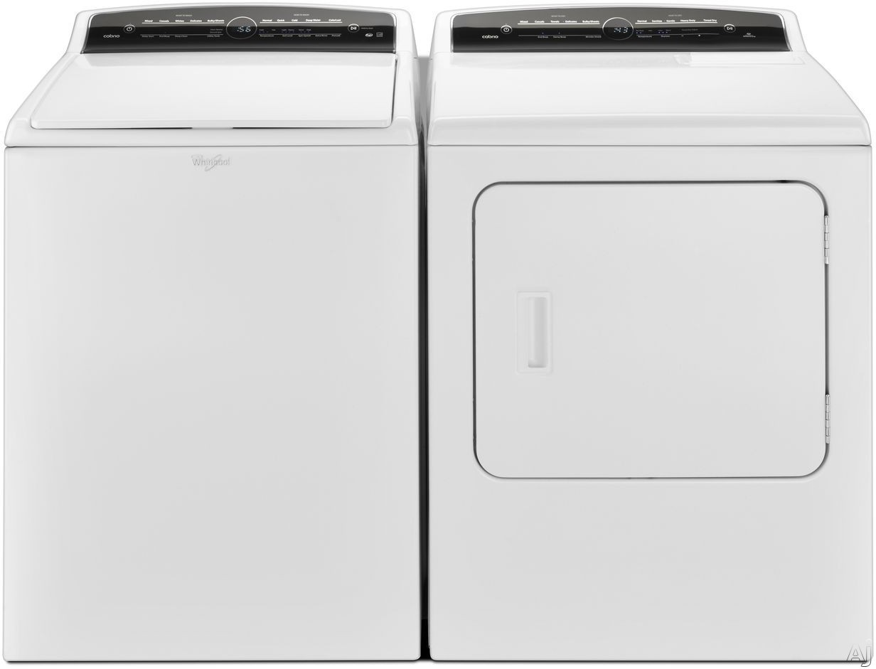 Whirlpool WTW7000DW 4.8 cu ft Cabrio HE Top Load Washer w//Exclusive ColorLast Option