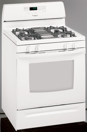 Whirlpool Gas Range Oven White AccuSimmer Knob KIP 5988