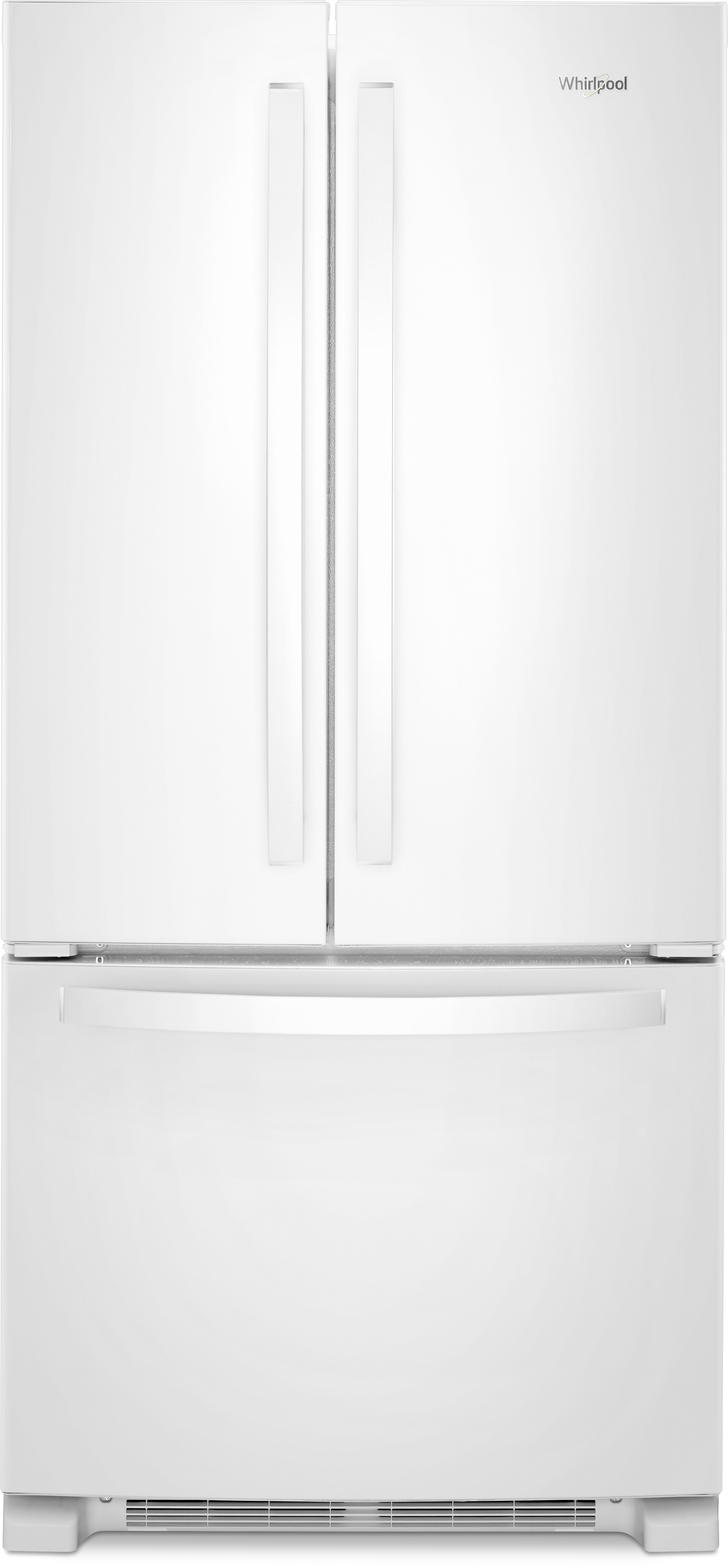 Whirlpool white ice counter depth french door - Whirlpool Refrigerators Buy A Whirlpool Refrigerator Today At Aj Madison