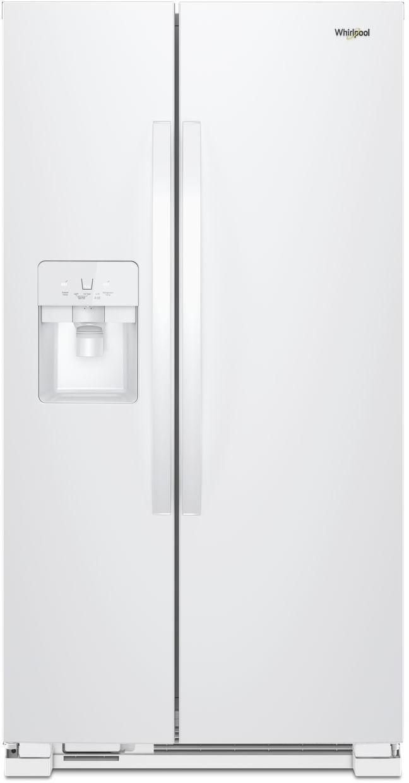 white refrigerator. white refrigerator