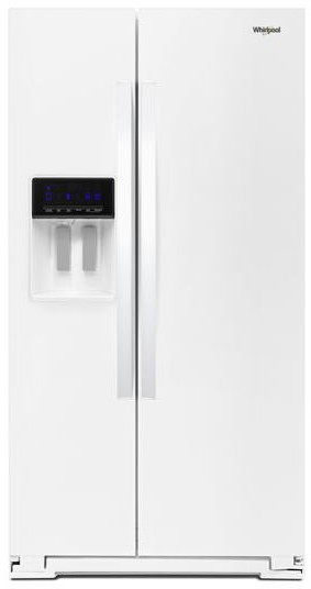 Whirlpool Wrs588fihw 36 Inch Side By Side Refrigerator