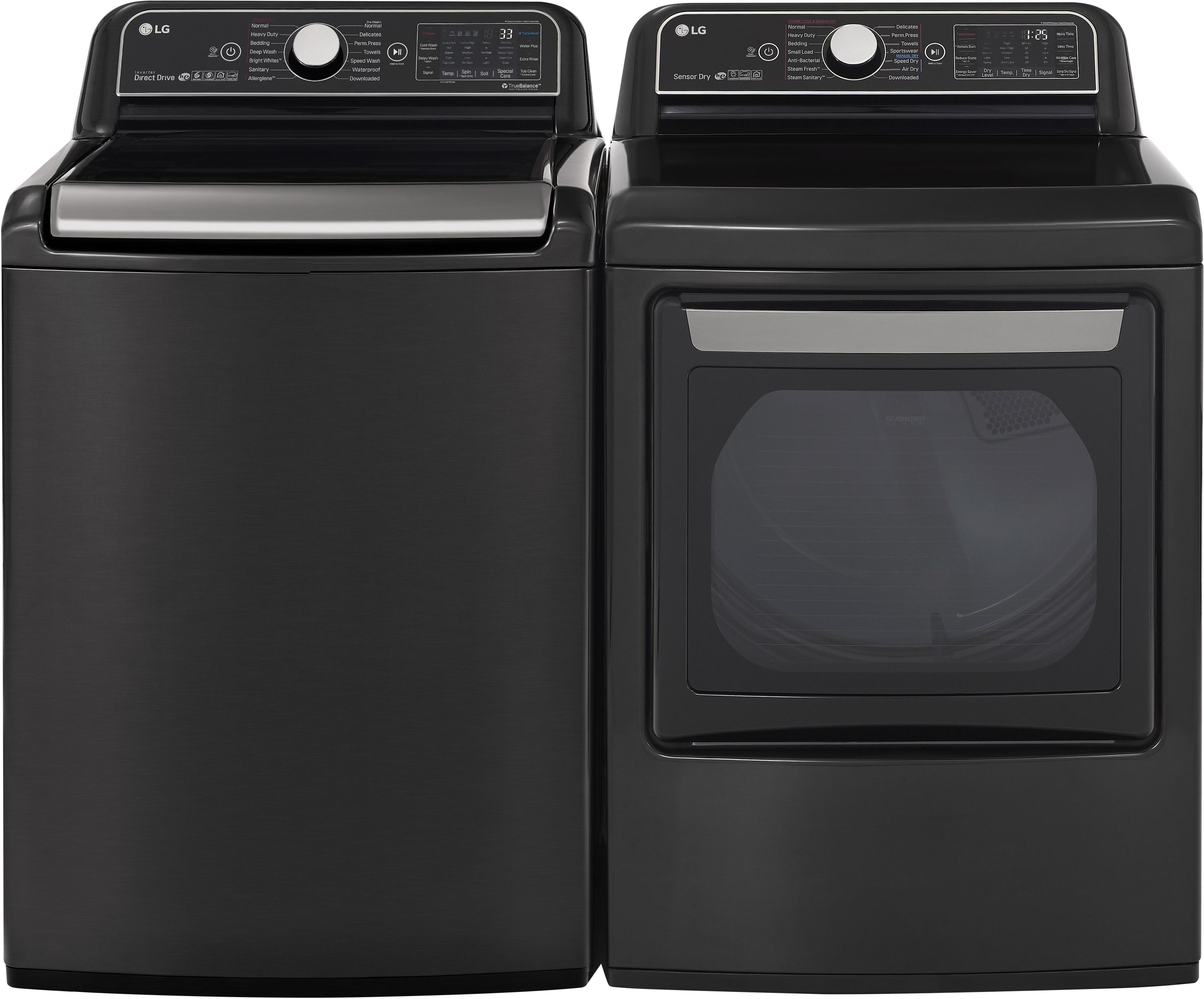 LG Side-by-Side Washer & Dryer Set