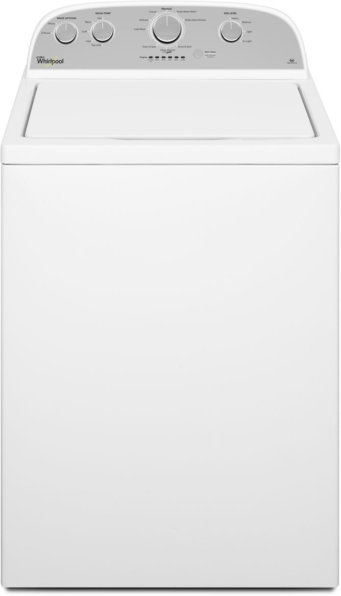 Whirlpool Wtw4815ew 28 Inch 3 5 Cu Ft Top Load Washer