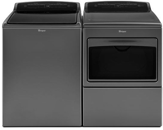Whirlpool WPWADREC17500 Side-by-Side Washer & Dryer Set with
