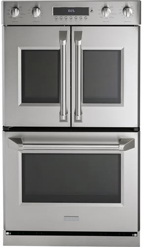 Monogram ZET2FLSS 30 Inch Smart Electric Double Wall Oven with WiFi  Connect, True Convection, Steam Clean, Meat Probe, Backlit Knobs, 10 cu.  ft. Total Capacity and Star-K Certified   Ge Monogram Oven Wiring Diagram      AJ Madison