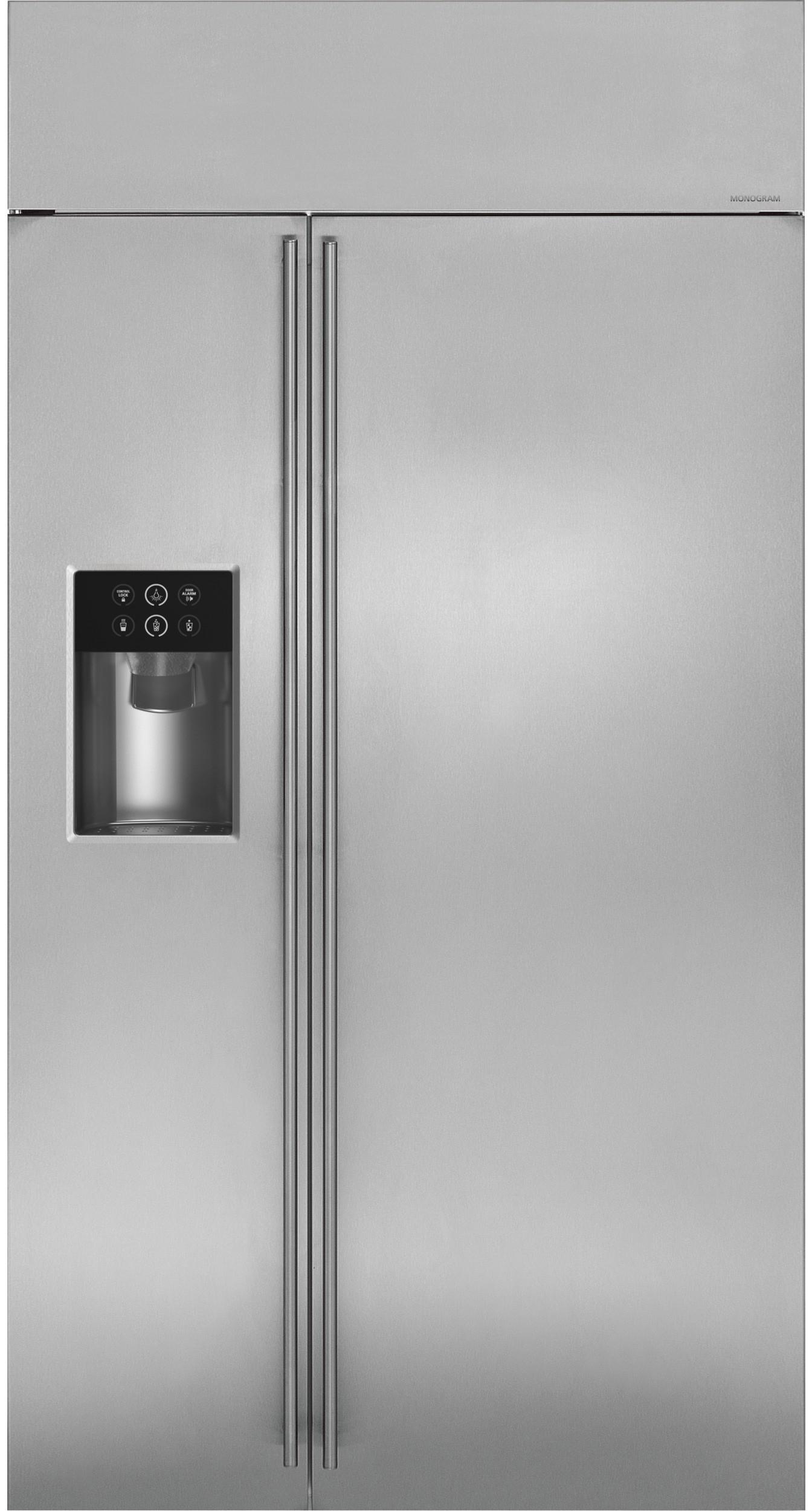 side by side built in refrigerators