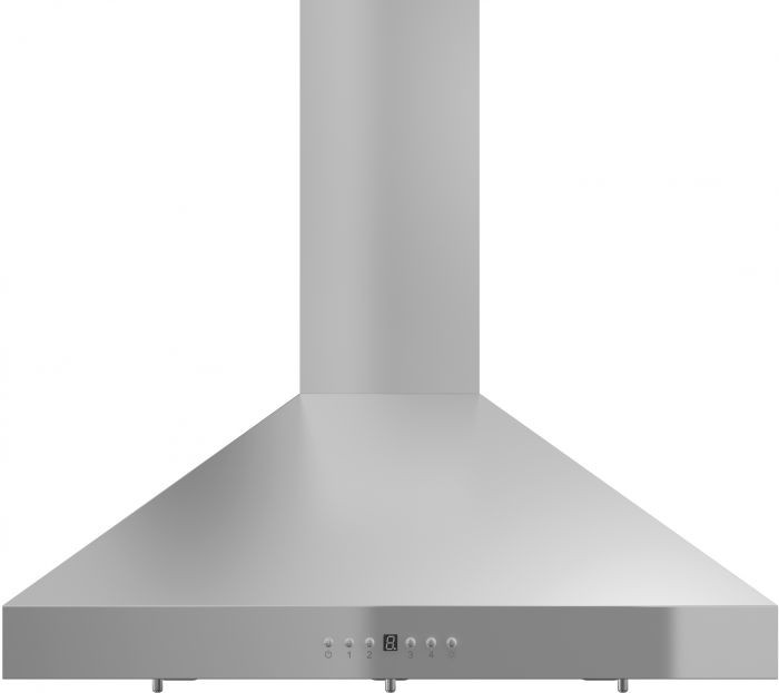 Zline Kl336 36 Inch Wall Mount Range Hood With 400 Cfm Motor Stainless Steel Baffle Filters Led Lighting 4 Speed Settings And Delay Shutoff