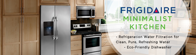 frigidaire stainless steel 4 piece kitchen appliance