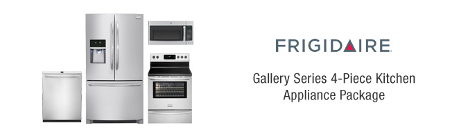 Frigidaire Gallery Series 4-Piece Kitchen Appliance Package