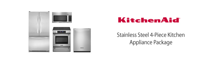 Kitchenaid Appliance Package Professional Series 4 Piece Kitchen Appliance  Package On Decorating Kitchenaid Appliance Package
